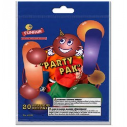 Party Pak - Assorted Sizes & Colors ~ 20 per pack