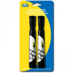 Permanent Markers - Black ~ 2 per pack