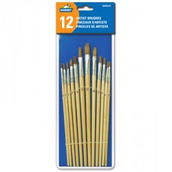 Paint Brush Set ~ 12 per pack