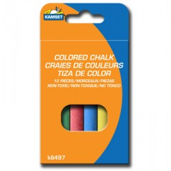 Colored Chalk ~ 12 pieces