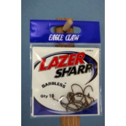 Eagle Claw Barbless Baitholder Hooks