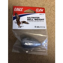 Eagle Claw Bell Weight ~ 4oz