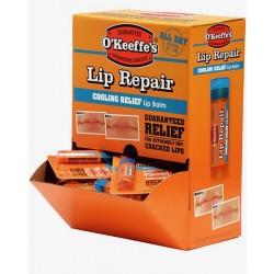 O'Keeffe's Cooling Lip Repair Lip Balm ~ 24 per gravity display