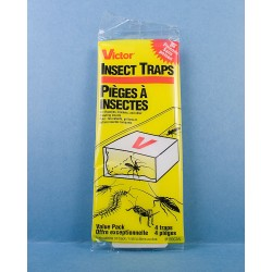 Victor Crawling Insect Glue Traps ~ 4 per pack