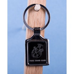 Prince Edward Island Lobster Keychain w/Black Background