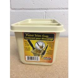 Bennett Plastic Re-Usable Paint Trim Cup
