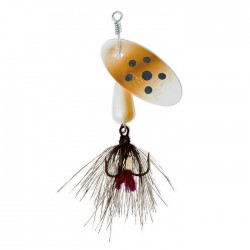 Panther Martin Lure - Size 9 ~ Brown Trout with Fly