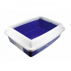 "Cat Litter Pan ~ 16.7"" x 12.7"" x 5.4"""