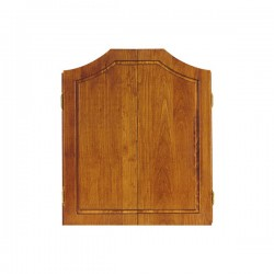 Solid Pine Dartboard Cabinet ~ Early American Finish