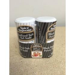 Mini Salt & Pepper Set ~ disposable