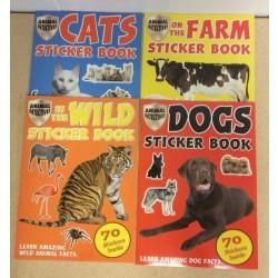 Sticker Activity Book w/70 reusable stickers