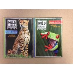 Wild Kingdom Coloring & Activity Book
