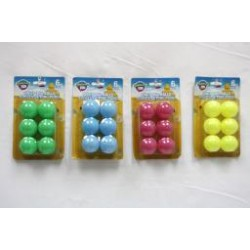 Ping Pong Balls - Bright Colors ~ 6 per pack