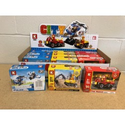 Building Block Set ~ 6 assorted