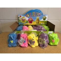 """Light-Up Teddy Bear Puffer Ball - 4.75"""" ~ 24 per display"""
