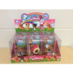"""Lovely Pet Show Animals - 4"""" ~ 6 assorted"""