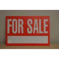 "Corrugated Plastic Sign - 16"" x 24"" ~ For Sale"