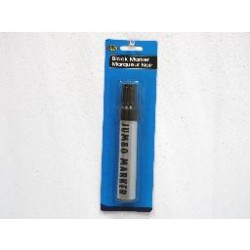 Jumbo Permanent Marker - Black ~ Oil Based Ink