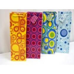 Bottle Gift Bags ~ Circles