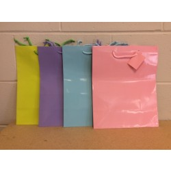 Large Gift Bags ~ Solid Light Colors