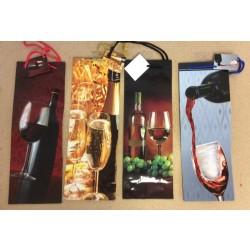 Bottle Gift Bags ~ Wine Glasses