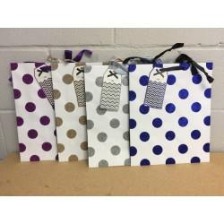 Large Gift Bags ~ Polka Dots