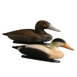 Pro-Lite Eider Duck Decoy ~ 6 hens & 6 drakes ~ 12/box