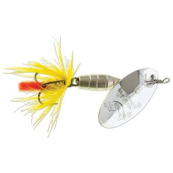 Panther Martin Lure - Size 9 ~ Deluxe Fly Silver/Yellow