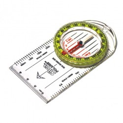 Silva Polaris Metric {Hi-Vis} Clear Compass