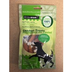 All Natural Chicken & Calcium Bone Dog Treats ~ 75gram bag