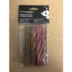 Rawhide Pressed Stick Dog Treats ~ 10 per bag