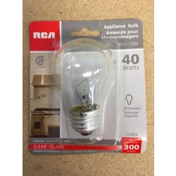 Appliance Bulb - 1 per pack ~ 40W