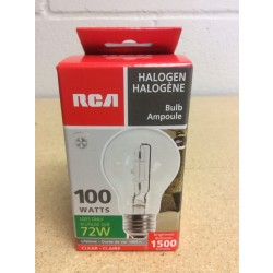 Halogen Lightbulbs - Clear - 1 per pack ~ 100W