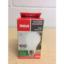 Halogen Lightbulbs - Soft White - 1 per pack ~ 100W