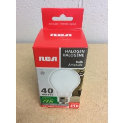Halogen Lightbulbs - Soft White - 1 per pack ~ 40W
