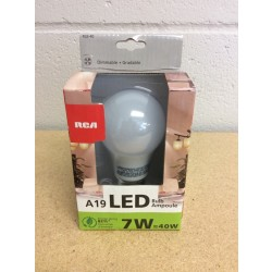 LED Lightbulb - Warm White - 1 per pack ~ 7W {=40W}