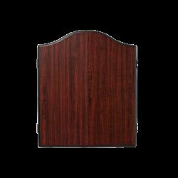 Plain Rosewood Dartboard Cabinet