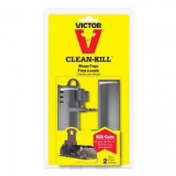 Victor Clean Kill Tunnel Mouse Traps ~ 2 per pack