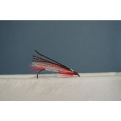 Red & White Buck Tail Delight Streamer