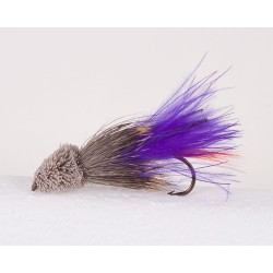 Purple Marabou Muddler Streamer