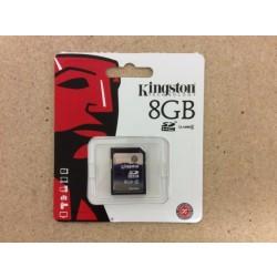 Kingston SDHC Memory Card ~ 8GB
