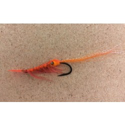 Lester The Lobster Fall & Black Salmon Flies