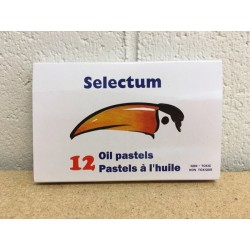 Selectum Oil Pastels ~ 12 per box