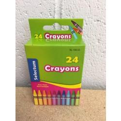 Selectum Crayons ~ 24 per pack