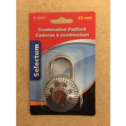 Selectum Combination Padlock ~ 45mm
