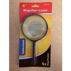 "Selectum Glass Magnifier ~ 4"" Diameter"