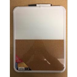 "Selectum Magnetic Dry Erase & Cork Board ~ 11"" x 14"""