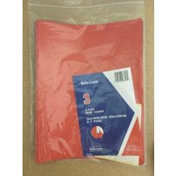 Selectum 3 Prong Report Covers  ~ 3 per pack