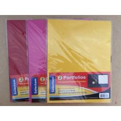 Selectum 2 Pocket Portfoilios  ~ 2 per pack
