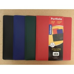 Selectum 3 Prong w/Pockets Poly Portfolio